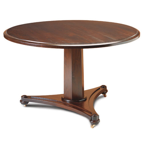 Fine Woodworking Pedestal Table Plan