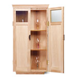 Fine Woodworking Wine Glass Cabinet Plan