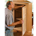 Fine Woodworking Corner Cabinet Plan