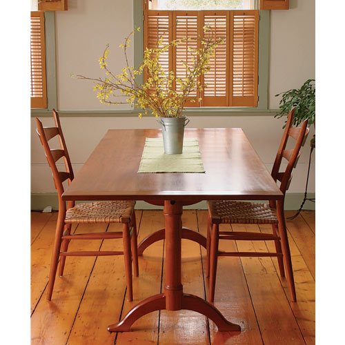 Project Plans Fine Woodworking Shaker Dining Table Plan