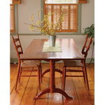 Fine Woodworking Shaker Dining Table Plan
