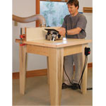 Fine Woodworking Open Base Router Table Plan