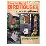EASY TO BUILD BIRDHOUSES - A NATURAL APPROACH BOOK