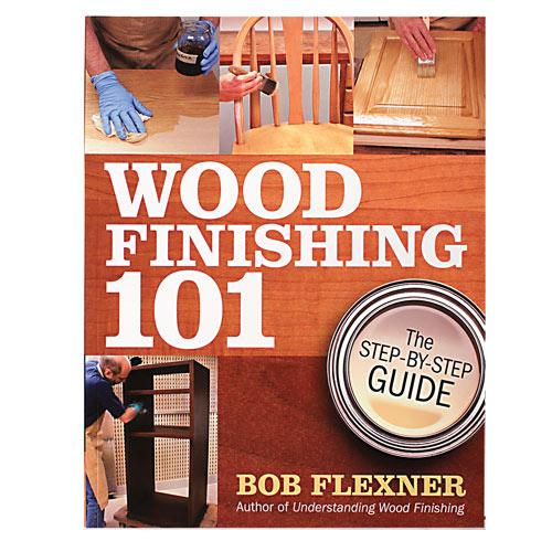 Wood Finishing 101 Book
