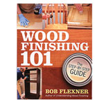 Wood Finishing 101 Book