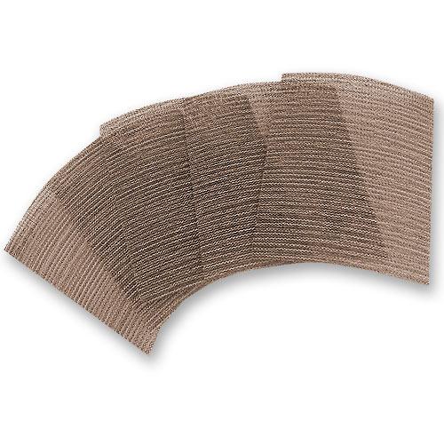 Stick Fast Abranet 400 Grit Abrasive Sheets, 5 Pk