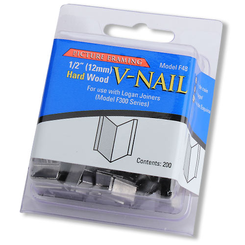 LOGAN NO  F48 PICTURE FRAMING V-NAILS - AHLF INCH HARD