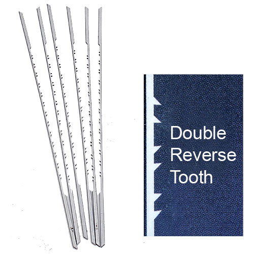 OLSON PGT DOUBLE / REVERSE TOOTH SCROLL SAW BLADES - NO  9RG