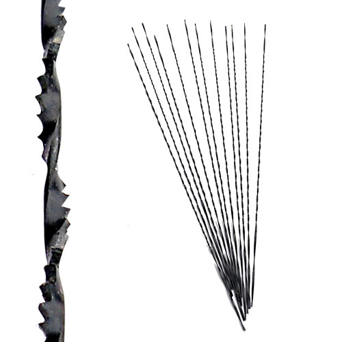 OLSON SPIRAL SCROLL SAW/ FRET SAW BLADES - UNIVERSAL #0 - 12 PK