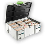 Festool 498204 Domino XL Tenon Systainer Assortment, 8 / 10mm