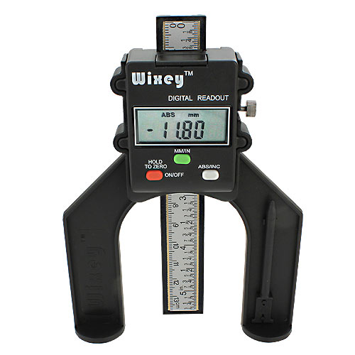 WIXEY #WR25 MINI DIGITAL HEIGHT GAUGE - CLIP
