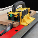 MicroJig #GR-100 GRR-Ripper Basic 3D Pushblock - In Use