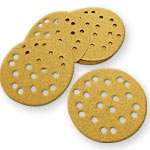 MIRKA GOLD MULTI-HOLE SANDING DISCS - 5 ASSORTMENT - 50 PK.