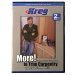 KREG MORE POCKET HOLE SOLUTIONS TO TRIM CARPENTRY WITH GARY STRIEGLER DVD