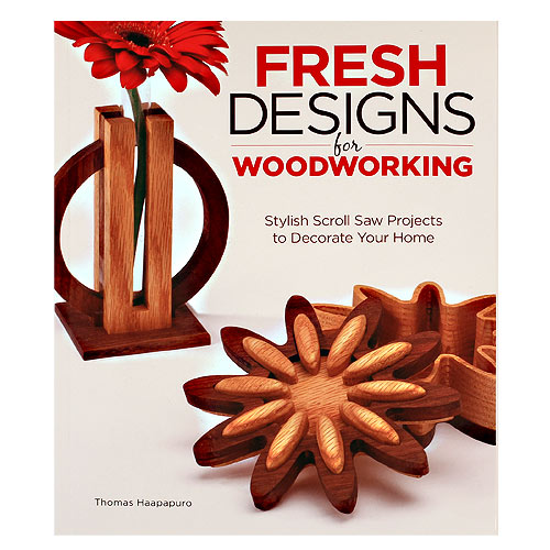 FRESH DESIGNS FOR WOODWORKING BOOK