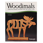 Woodimals: Creative Animal Puzzles For the Scroll Saw Book
