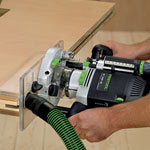 Festool 495246 Plexiglas Routing Template - In Use