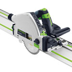Festool 575388 TS 55 REQ Plunge-Cut Track Saw Imperial with 55 Guide Rail