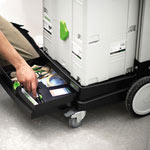 FESTOOL SYS-ROLL SYSTAINER & STORAGE DOLLY - STORAGE DRAWER
