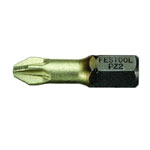 Festool 490471 #1 Pozidrive HiQ Bits - 1 - 3 Pk.