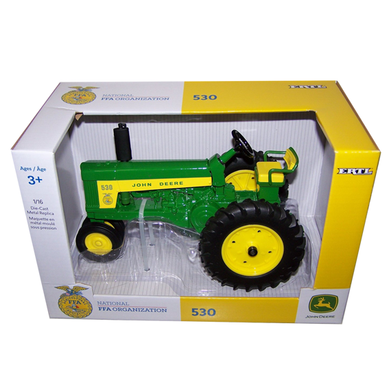 Ertl John Deere 1:16 Scale Model 530 National FFA Tractor