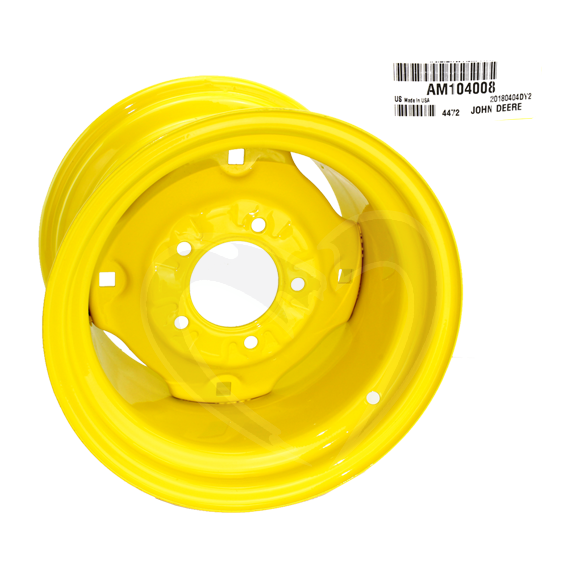 JOHN DEERE #AM104008 REAR WHEEL RIM