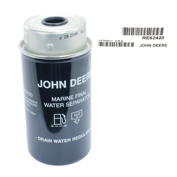 John Deere #RE62420 Fuel Filter Element
