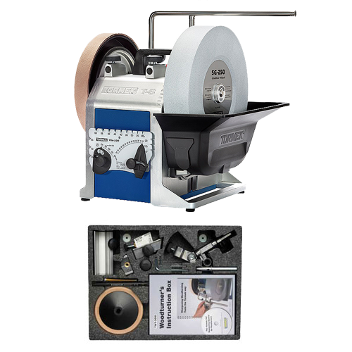 TORMEK T-8 SHARPENING SYSTEM #TBW802 WOODTURNER'S KIT PACKAGE