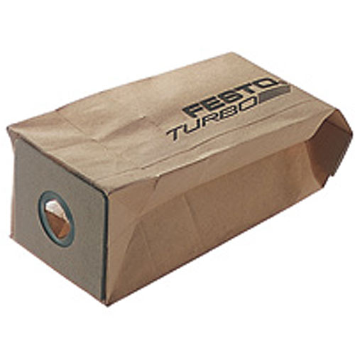 Festool 489128 Turbo Dust Bags, 5 ct