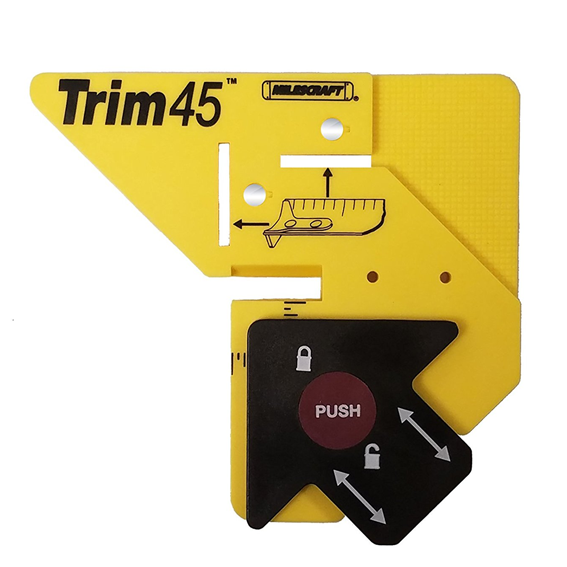 Milescraft #8401 Trim45 Trim Carpentry Aid