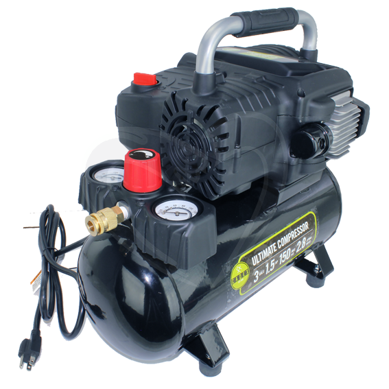Cadex AC3G1 5 3 Gallon 1 5 HP Ultimate Air Compressor