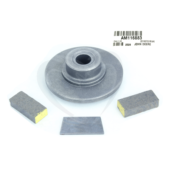John Deere #AM116883 Disc Brake Kit
