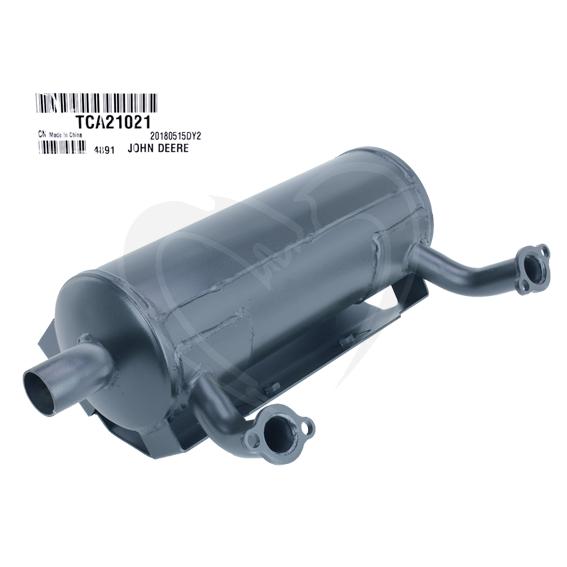 John Deere #TCA21021 Exhaust Muffler