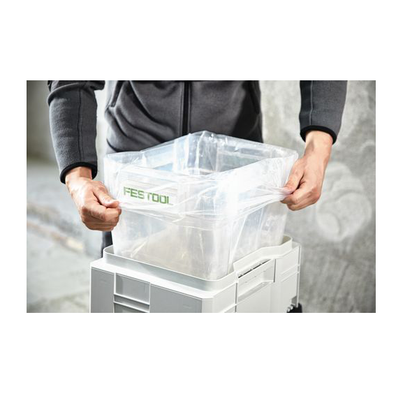 Festool 204296 Disposable Dust Liners ENS-VA-20/10 - In Use #1