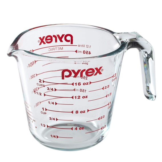 Pyrex 2-Cup / 500 mL Glass Measuring Cup