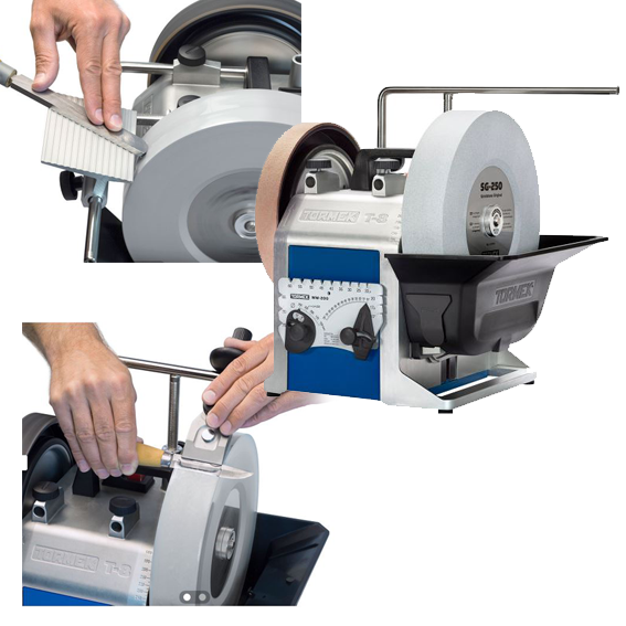 Tormek T-8 Holiday Value Package - FREE! Knife Jig & Tool Rest