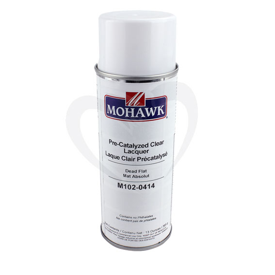 Mohawk M102-0414 Dead Flat Pre-Catalyzed Clear Lacquer, 13 Ounce