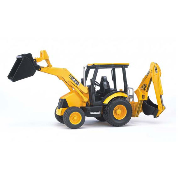 Bruder #02427 1:16 Scale JCB MIDI CX Backhoe Loader