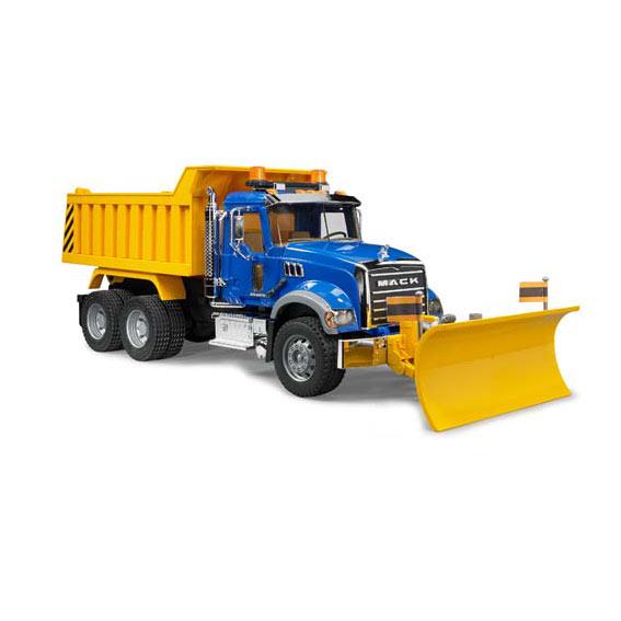 Bruder 02825 Mack Granite Dump Truck with Plow