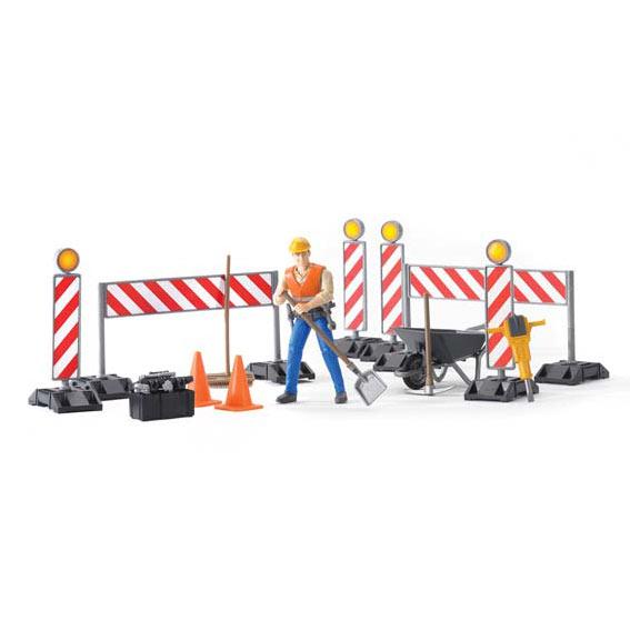 Bruder 62000 Bworld Construction Set with Worker