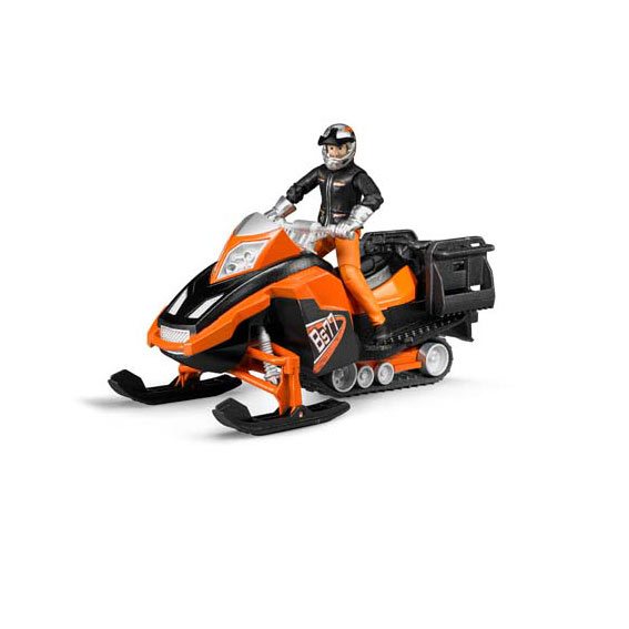 Bruder 63101 Snowmobile with Driver & Accessories