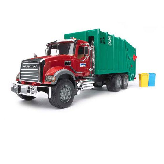 Bruder #02812 1:16 Scale Mack Granite Garbage Truck