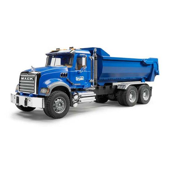 Bruder #02823 1:16 Scale Mack Granite Halfpipe Dump Truck