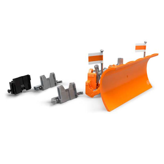 Bruder #02582 1:16 Scale Truck Plow Blade for Mack, Scania, and MAN Trucks