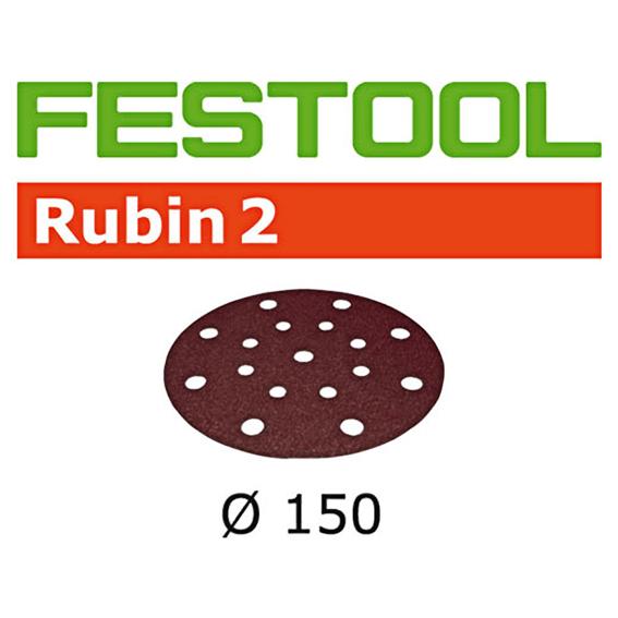 Festool 575193 Rubin P220 150mm Disc Abrasive - 50 Pk