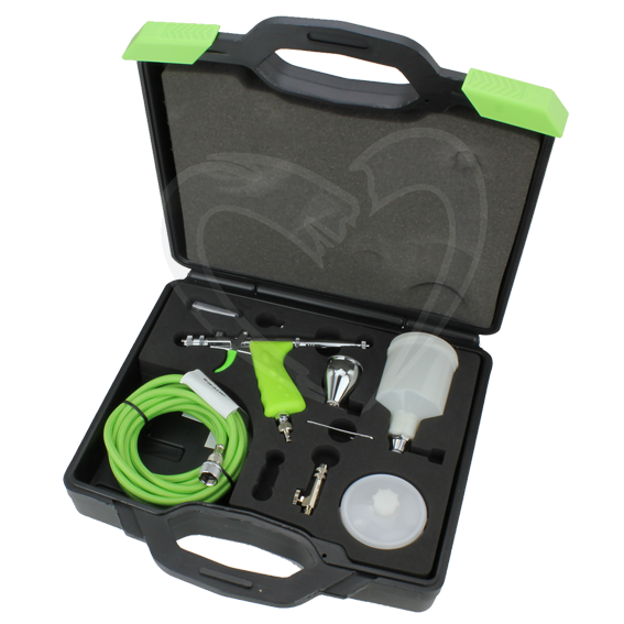 Grex MF.TS Tritium.TG5 Top Fed Micro Spray Gun Set - 0.5mm Nozzle