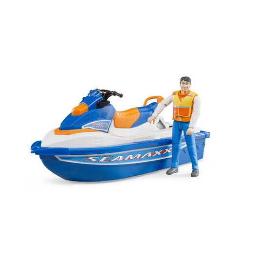 Bruder #63150 1:16 Scale Personal Water Craft with Rider