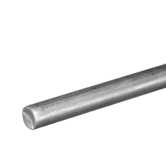 National Hardware N1797543 Smooth Zinc Plated Steel Rod - 3/16 x 36