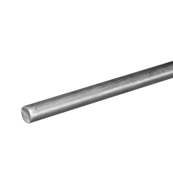 National Hardware N1797804 Smooth Zinc Plated Steel Rod - 1/2 Inch x 36 Inch