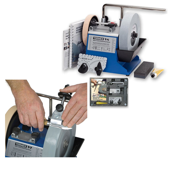 Tormek T-4 w/FREE SVM-45 Knife Jig Value Package